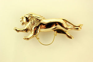 Gold or Silver  Lion Magnetic Eyeglass Holder - Laura Wilson Gallery