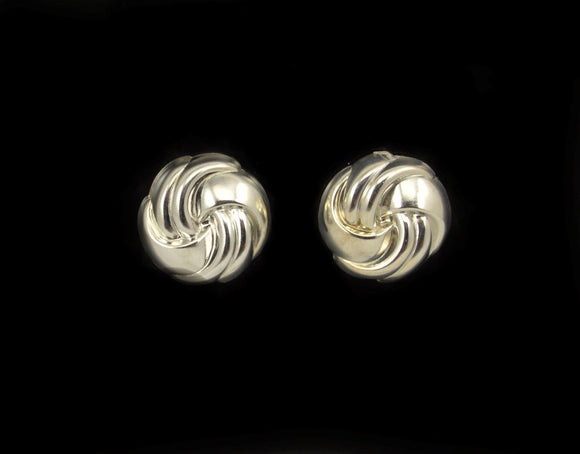 Classic Knot Magnetic Clip Non Pierced or Pierced Earrings - Laura Wilson Gallery