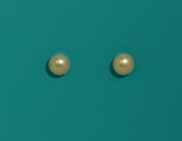 6 mm White or Cream Pearl Magnetic Clip Non Pierced OR Pierced Earring - Laura Wilson Gallery
