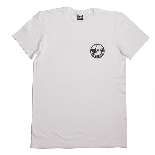 No Brakes Logo - White
