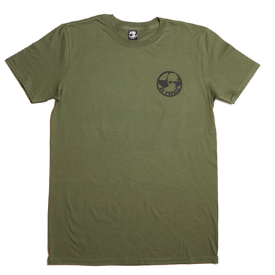1970's Jawa 500 - Military Green - [back print]