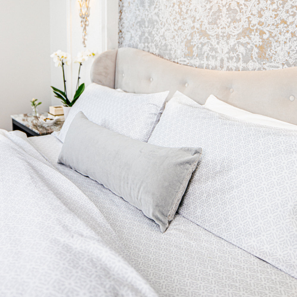 Organic Prague™ Patterned Bed Sheets