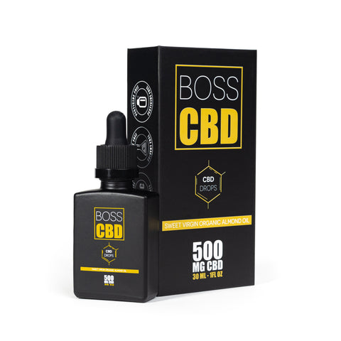 BOSS Supplement Almond Oil 30 ML