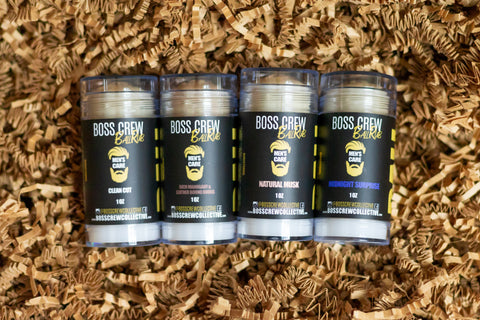 Men's 4 Scent Ball Rub Bundle