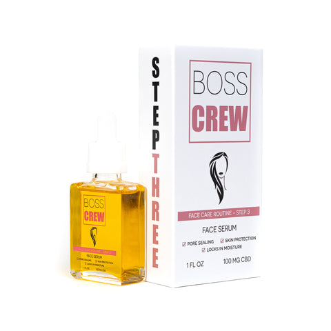 BOSS Face Serum 1oz 100mg CBD