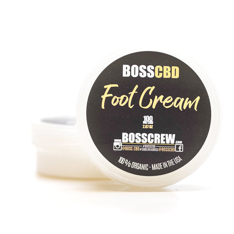 BOSS Foot Cream 100mg CBD