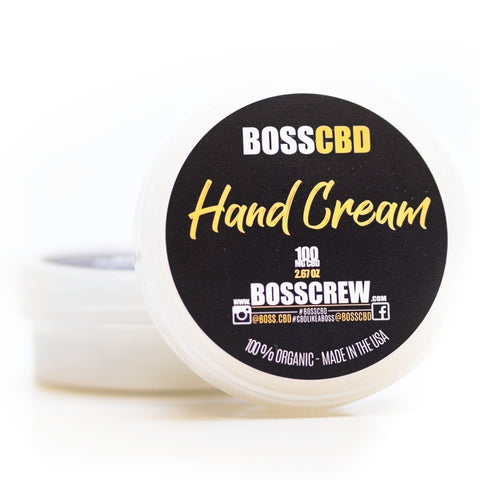 BOSS Hand Cream 100mg CBD