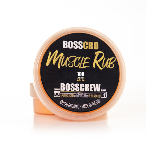 BOSS Muscle Rub 100mg CBD