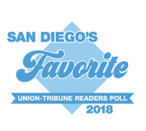 Voted a San Diego Favorite!