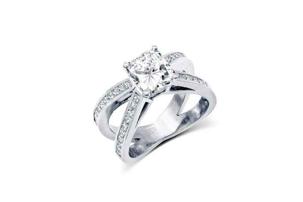 Radiant Cut Diamond Engagement Ring | Allison Neumann Fine Jewelers