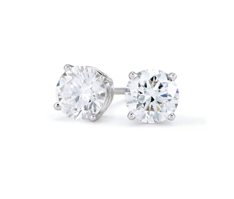 Diamond Stud Earrings at Allison Neumann Fine Jewelers