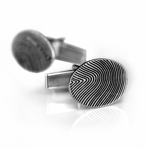 Fingerprint Cufflinks