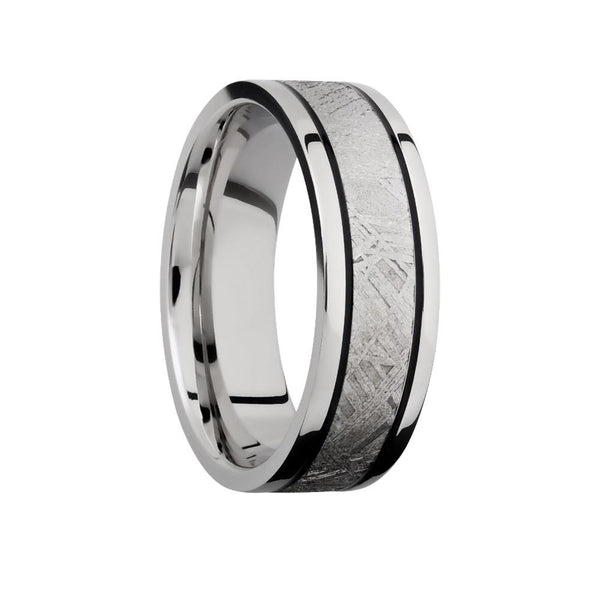 Lashbrook Meteorite Ring Cobalt Chrome Flat Band
