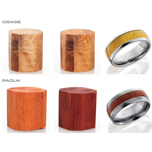 Lashbrook 14K White Gold Koa Wedding Band