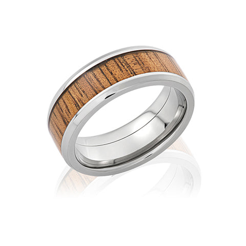Lashbrook Koa Wood Ring San Diego Jeweler Allison Neumann Fine Jewelers
