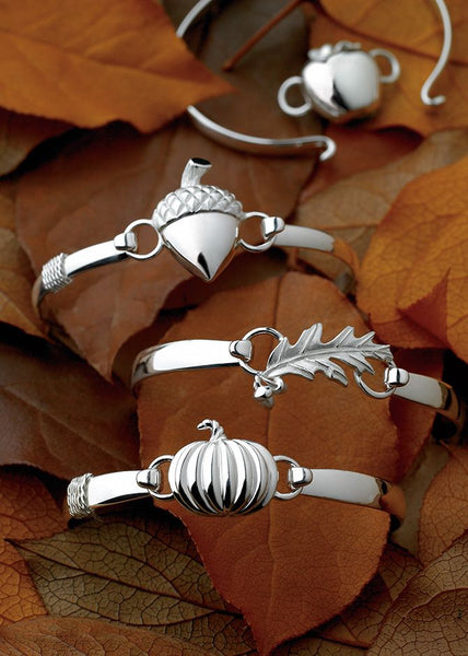 Acorn Sterling Silver Convertible Clasp