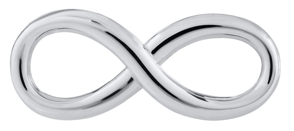 Infinity Sterling Silver Convertible Clasp