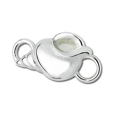 Titan Shell Sterling Silver Convertible Clasp
