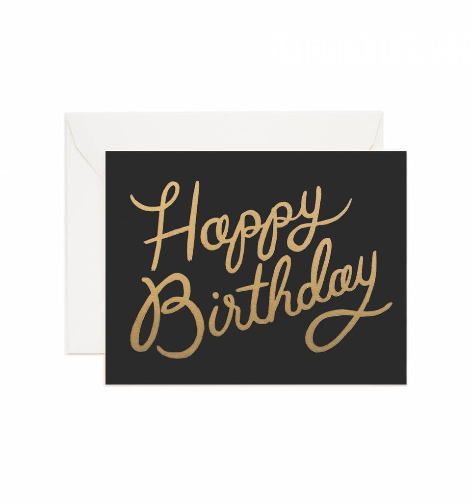 Rifle Paper Shimmering Celebration Birthday Card