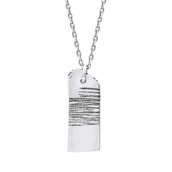 Stay Outside the Lines Necklace