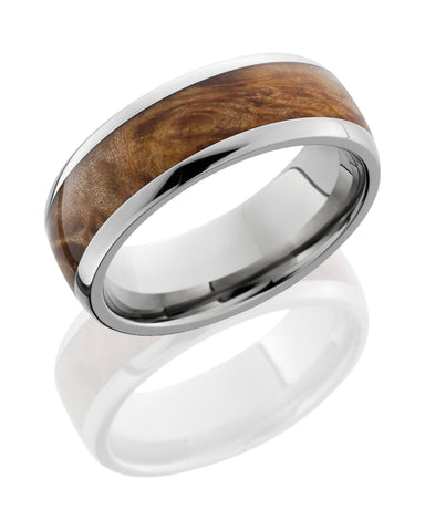 Lashbrook 14K White Gold Maple Wedding Band