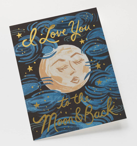 To the Moon and Back Greeting Card | Allison Neumann Fine Jewelers