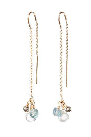 Cascade Threader Earrings
