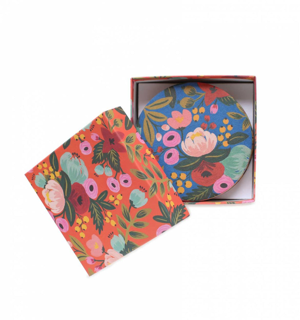 Rifle Paper Assorted Floral Coaster Set