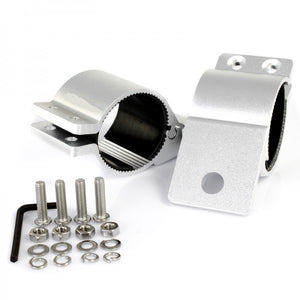 CHROME 76mm BRACKETS