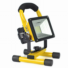 Load image into Gallery viewer, 30w RECHARGEABLE LED FLOOD LIGHT