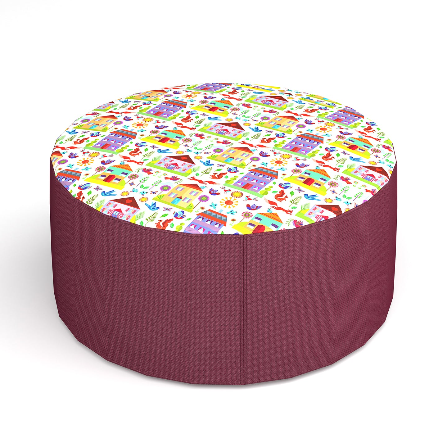 Bop Placeable Round Stool
