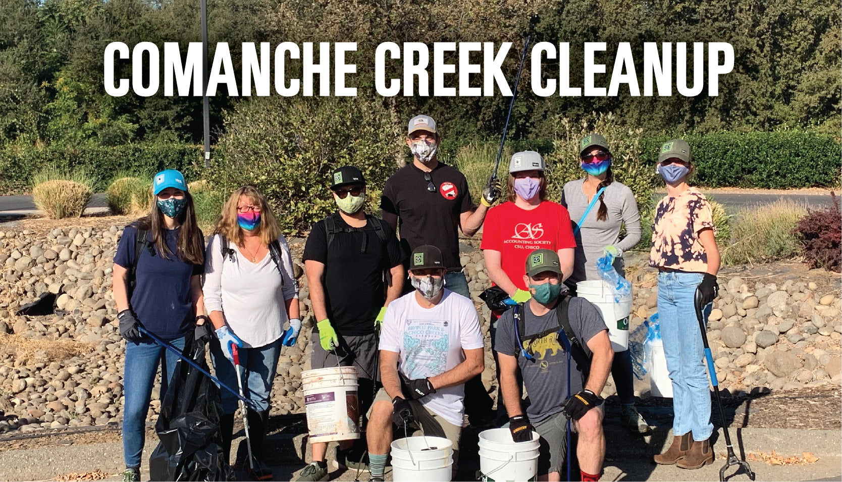 ChicoBag Comanche Creek Challenge: Our September Cleanup Day Adventure