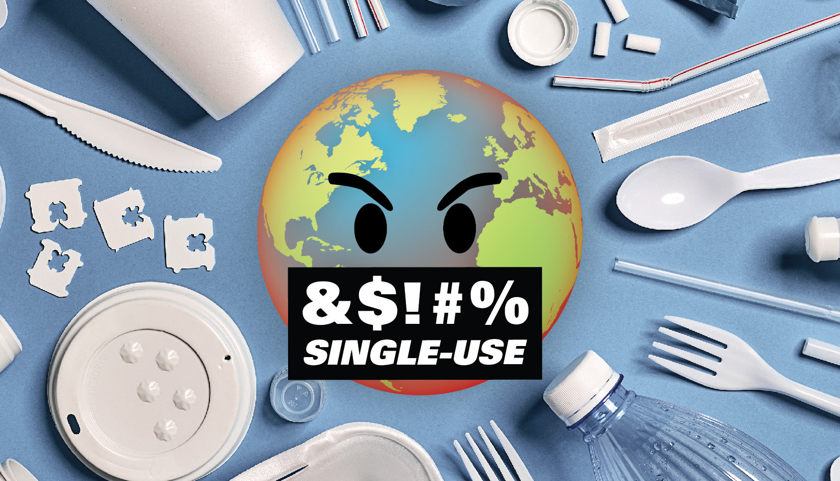A Pledge to #effsingleuse Doesn't Mean You Have to Go 100% Plastic-Free