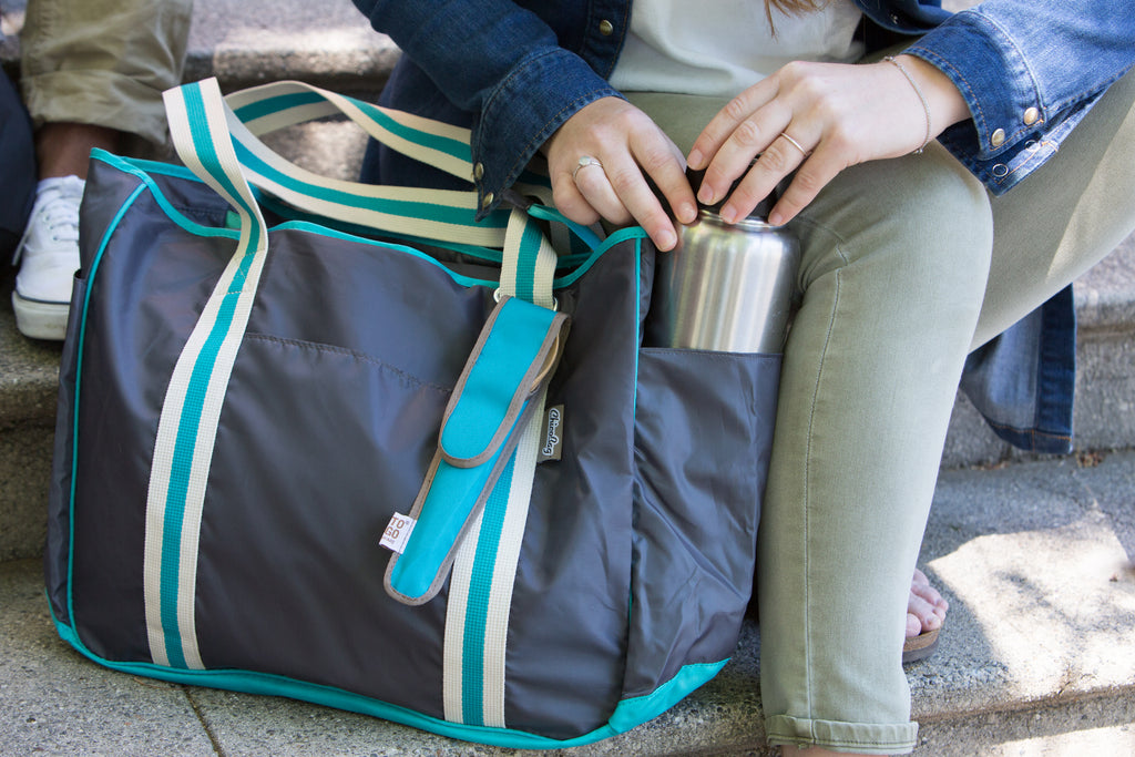 ChicoBag Nomad Shoulder Tote Great For Picnics and Travel