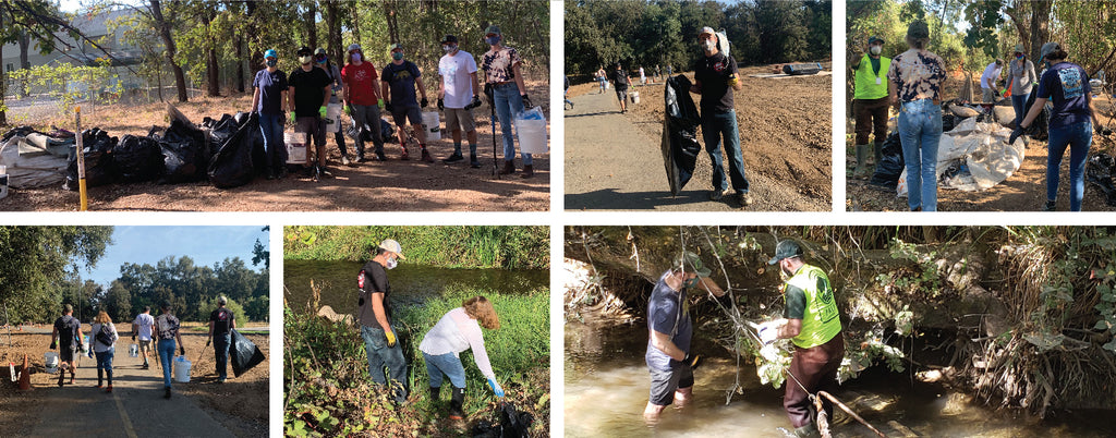 ChicoBag Team cleans up local waterway