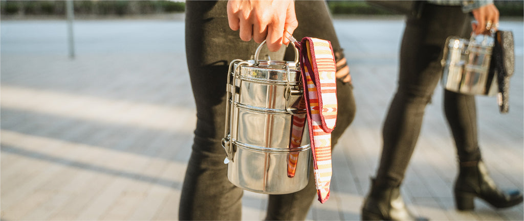 stainless food containers and To-Go Ware utensils help reduce your footprint