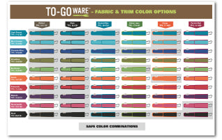 To Go Ware 9 week custom program color combinations
