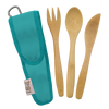 Kids Bamboo Utensil Set Berry } To-GoWare