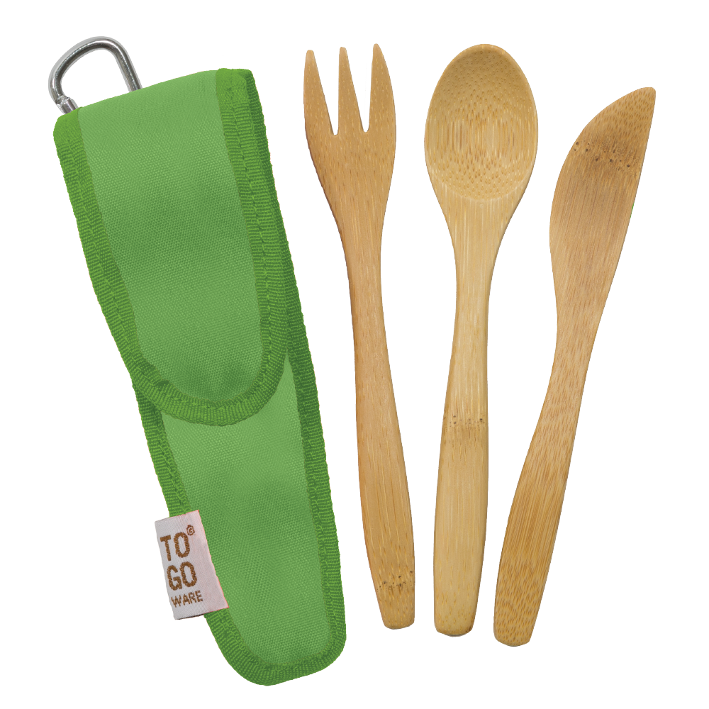 Bamboo Utensil Set - Kids