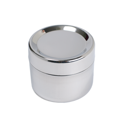 Small Stainless Steel Sidekick machine washable and oven safe reusable container half cup capacity