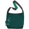 ChicoBag Sling Coral Green rePETe hands-free Cross Body Tote That Stuffs Into its built-in pouch and made from recycled plastic bottles On a White Background