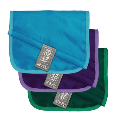 ChicoBag rePETe Snack Time reusable Sandwich Bag made from recycled plastic bottles Set of Three Folded
