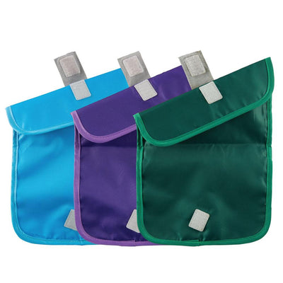 ChicoBag rePETe Snack Time reusable Sandwich Bag made from recycled plastic bottles Set of Three Open