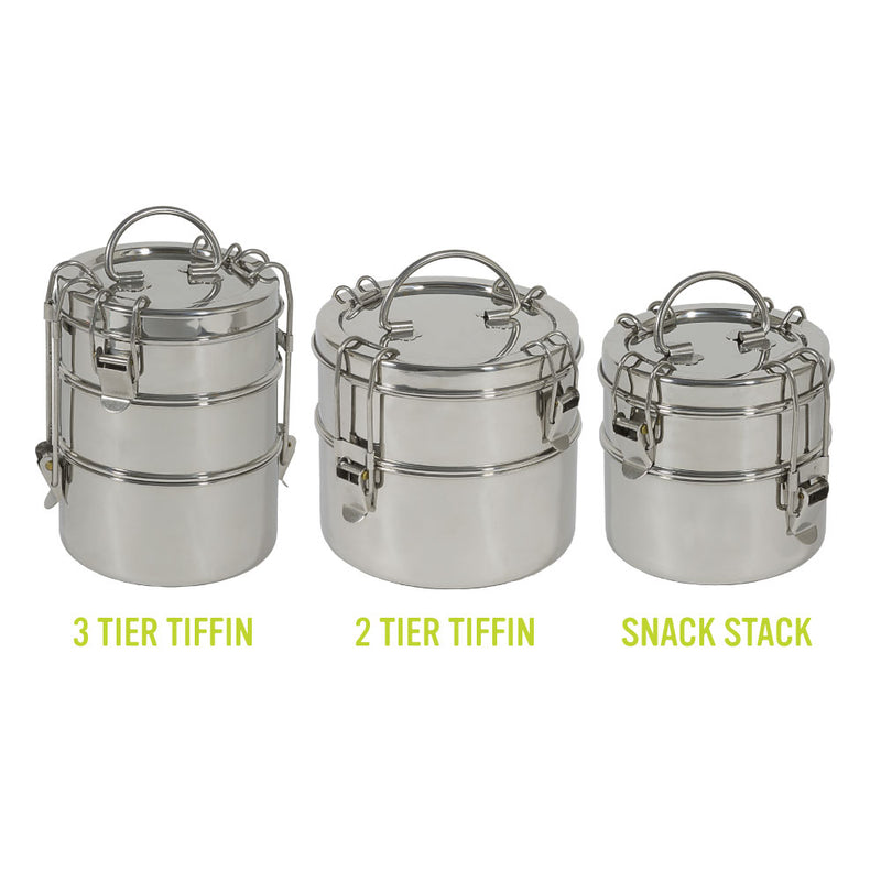 To-Go Ware Stainless Steel Tiffin Food Containers