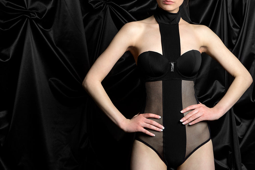 tragic kiss luxury lingerie V. bodysuit