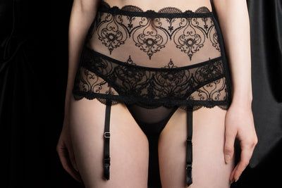 tragic kiss luxury lingerie charlotte spade of hearts cincher