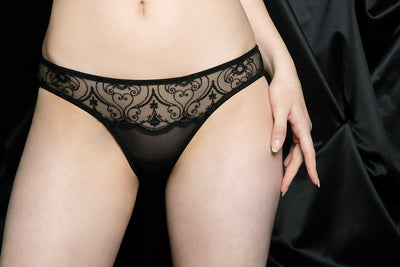 tragic kiss luxury lingerie charlotte spade of hearts panty