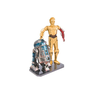 Metal Earth - Star Wars R2-D2 + C-3PO - Bild 1