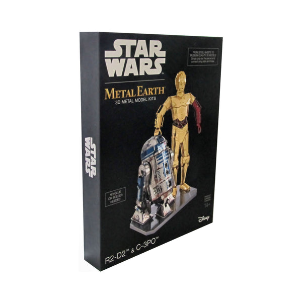 Metal Earth - Star Wars R2-D2 + C-3PO - Bild 2