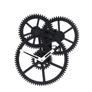 Wall Triple Gear Clock - Bild 1
